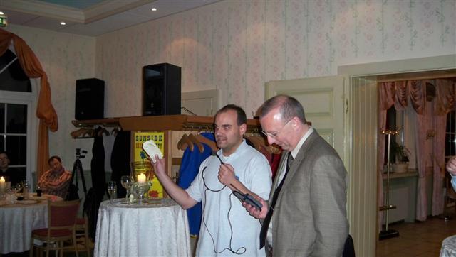 Holger Kistermann (simFlight Germany) e Bert Groner (FS Magazin)