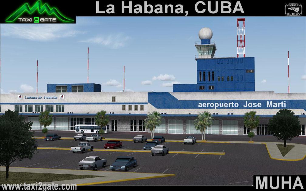 Aeroporto Havana : Havana cuba