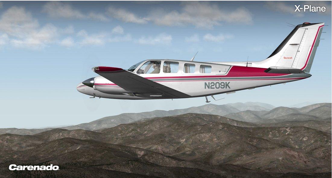 Baron58 Carenado X-Plane9 e 10